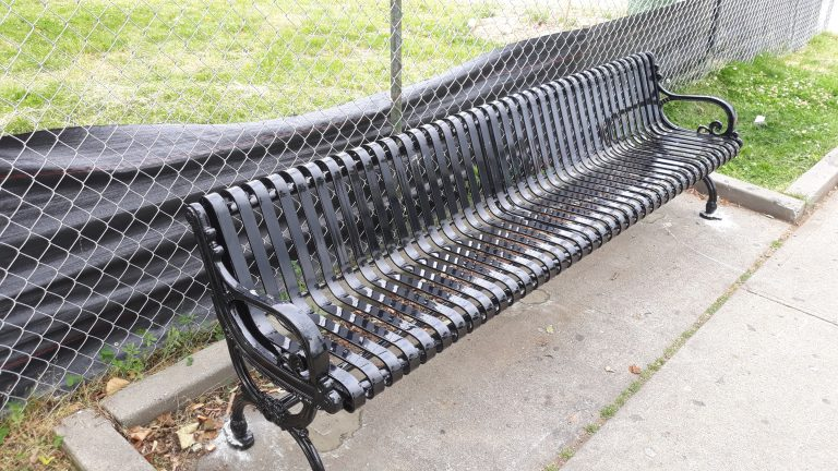 New bench