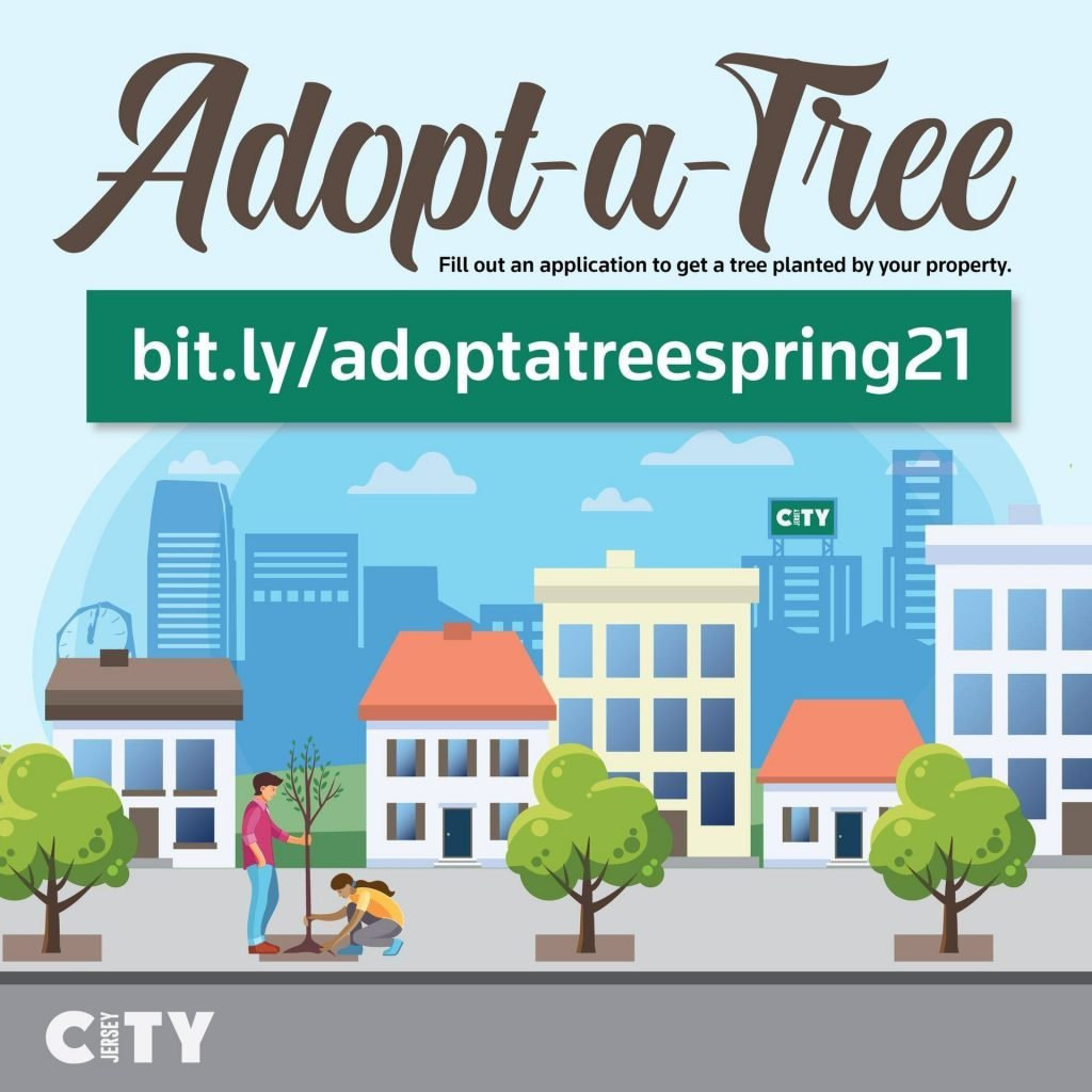 Adopt-A-Tree program in Jersey City reopens