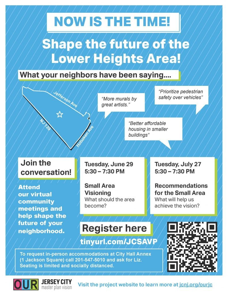 Lower Heights Small Area Vision Plan Meeting Flyer