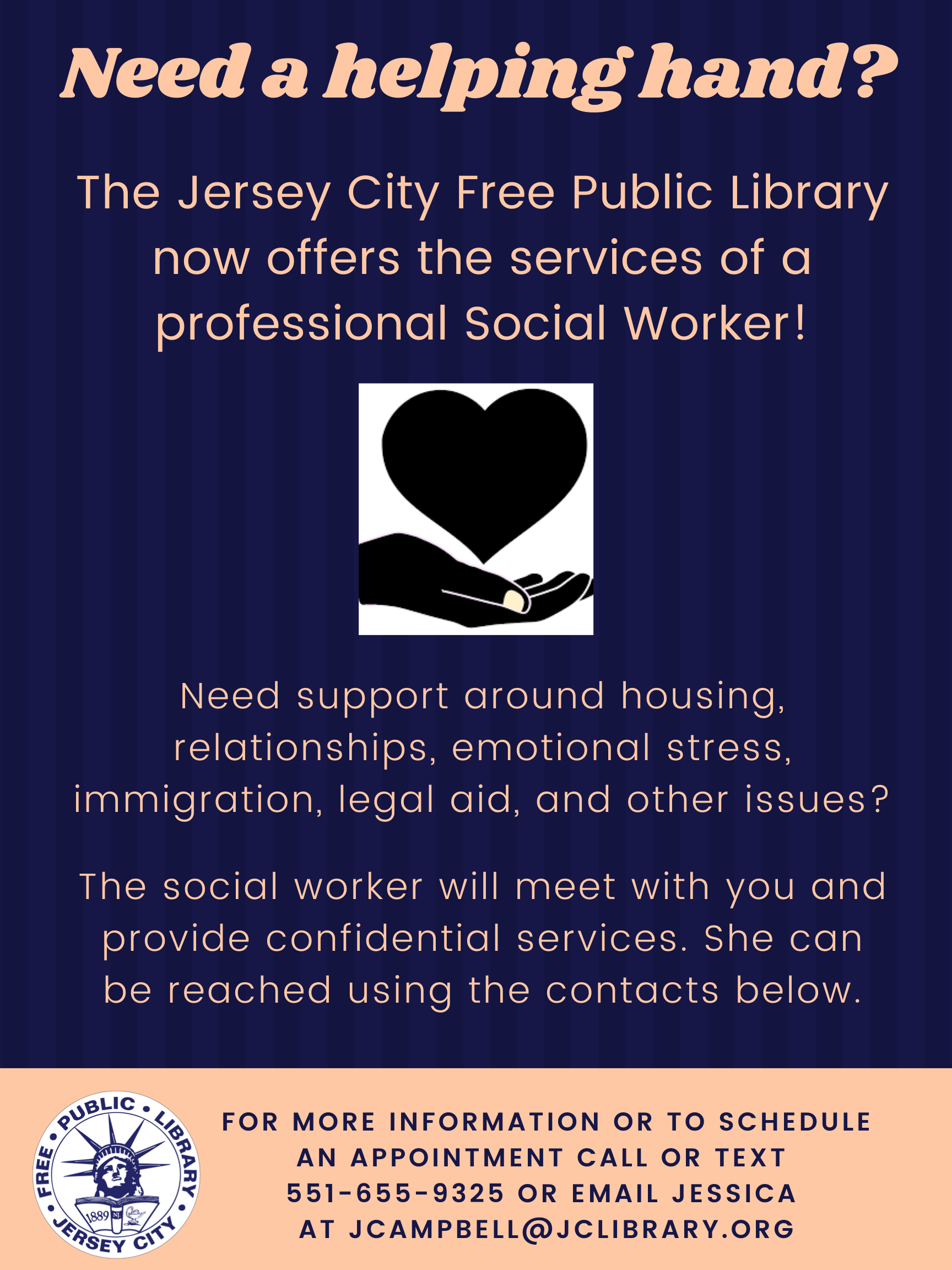 JC Free Public Library Social Worker Services