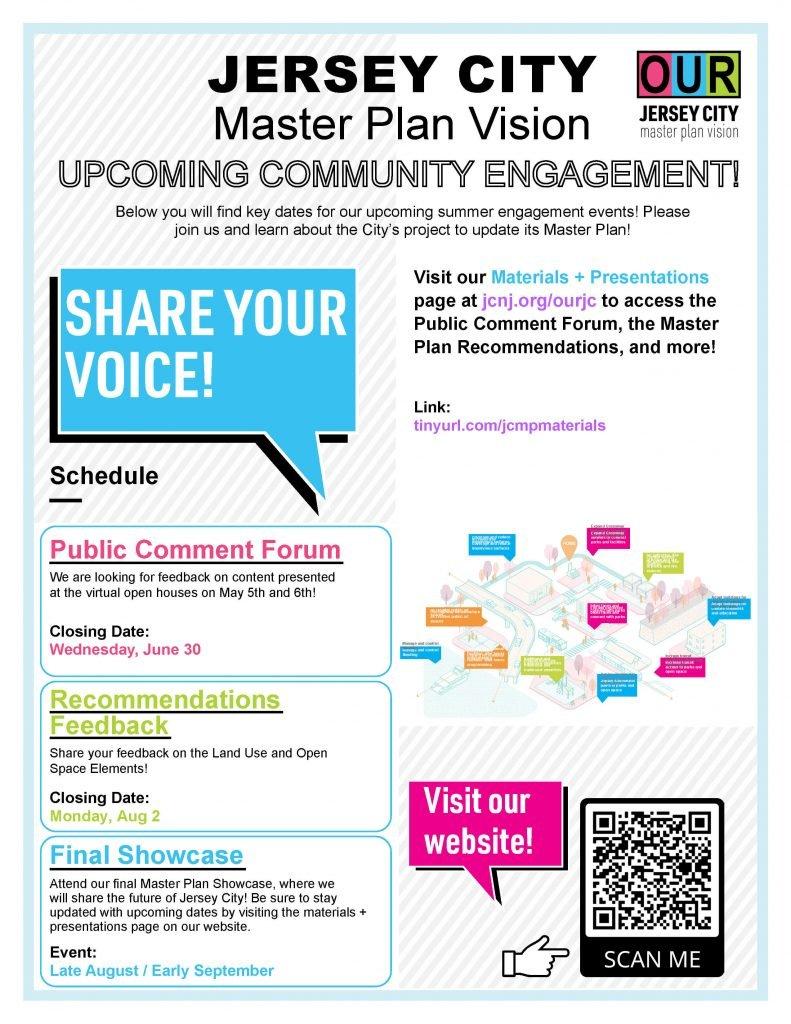 Jersey City Master Plan Vision Public Comments