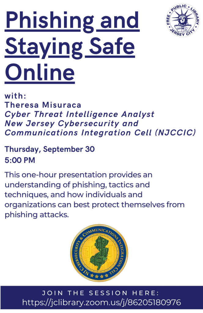 Phishing and Staying Safe Online