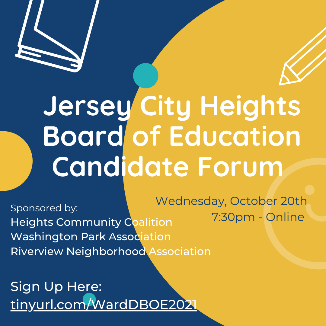 JC Heights Board of Education Forum 2021